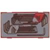 28 шестигранных ключей ММ/AF и ТХ-ключей ТТНТ28 Teng Tools 12825