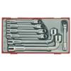 Набор из 7 двойных торцевых ключей TTAW07 Teng Tools 118400100