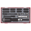 Набор вставок с трещоточной отверткой ТТМD50 Teng Tools 10216010
