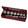 Набор метрических головок 1 из 15 предметов М1115ММ Teng Tools 7