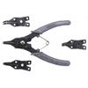 Набор щипцов для установки стопорных колец из 5 предметов, 480 T