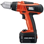 BlackandDecker Black & Decker CP12K дрель/винтоверт